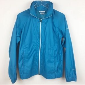 Columbia Lightweight Jacket with Roll Up Hood